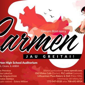 "Lithuanian Opera ""Carmen"""